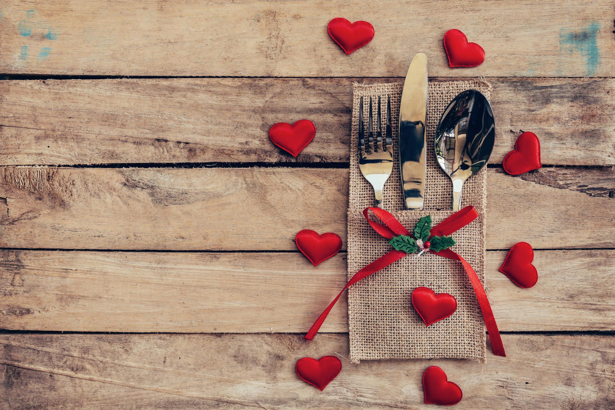Menu Saint Valentin Jeudi 14 Fevrier 2019